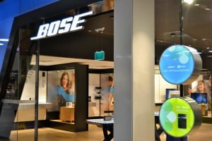 Bose Mall of Scandinavia LED-bokstäver