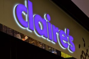 Claire's Mall of Scandinavia LED