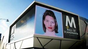 Mall of Scandinavia LED display