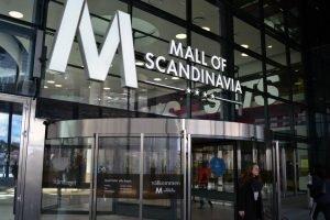 Mall of Scandinavia Entreskylt LED-bokstäver FocusNeo