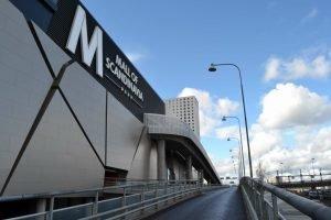 Mall of Scandinavia fasadskylt FocusNeo