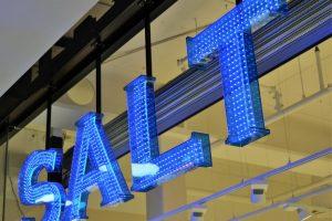 Salt LED-skylt