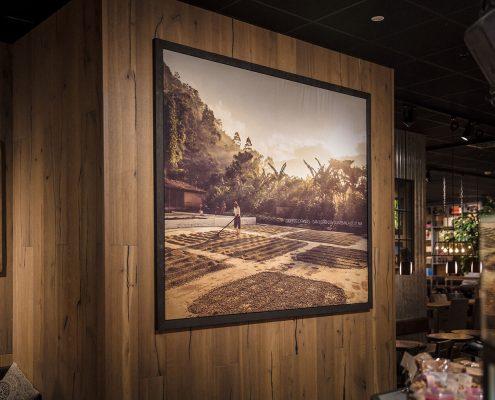 Espresso House dukskylt